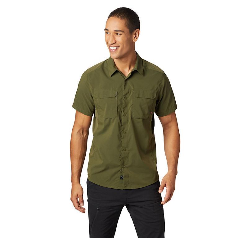 affa206f Men's Canyon Pro Short Sleeve Shirt | Mountain Hardwear