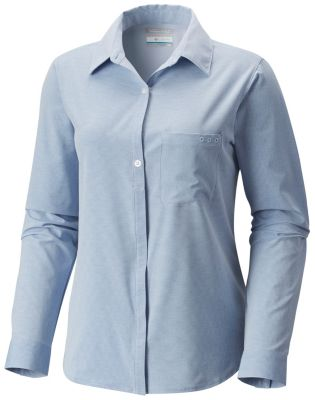 Women's PFG Reel Relaxed™ Woven Long Sleeve Shirt | Tuggl