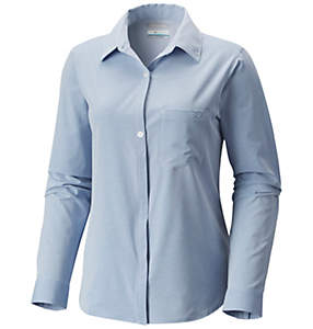 Women's PFG Reel Relaxed™ Woven Long Sleeve Shirt