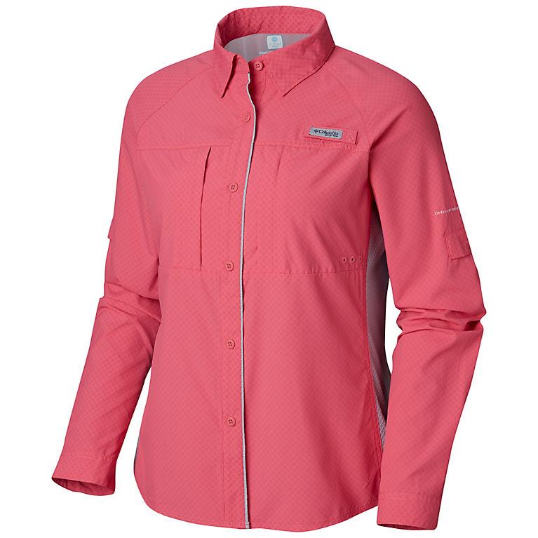 314c91dc771 Tropic Pink, Cirrus Grey Women's PFG Ultimate Catch ZERO™ II Long Sleeve  Shirt,
