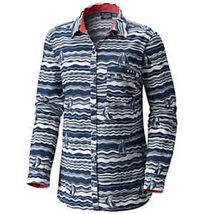 Women's PFG Harborside™ Linen Long Sleeve Shirt