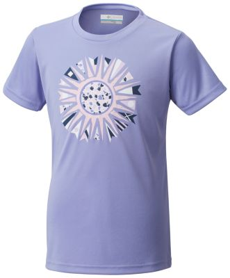 Girls' Trailriffic™ Short Sleeve Shirt at Columbia Sportswear in Oshkosh, WI | Tuggl