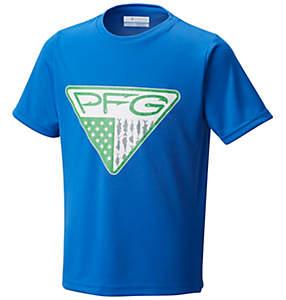 Youth Boys PFG Triangle™Fill Short Sleeve Shirt