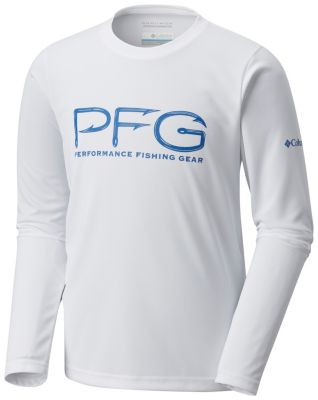 Boys' PFG Hooks™ Long Sleeve Shirt | Tuggl