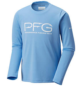 Boy's PFG Hooks™ Long Sleeve Shirt