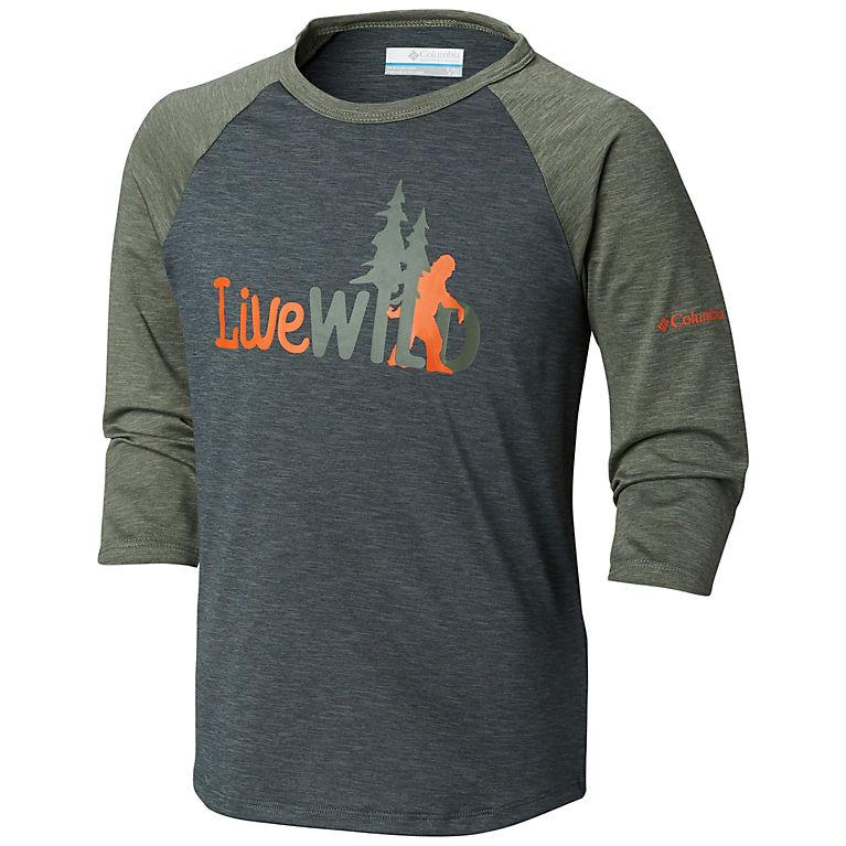 c69786af8f1 Kids  Outdoor Elements 3 4 Sleeve Shirt