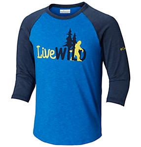 T-shirt manches3/4 Outdoor Elements™ pour enfant