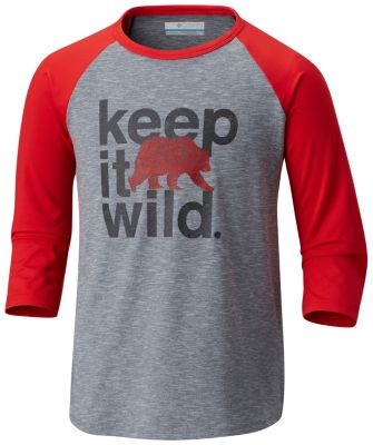 Kids' Outdoor Elements™ 3/4 Sleeve Shirt | Tuggl
