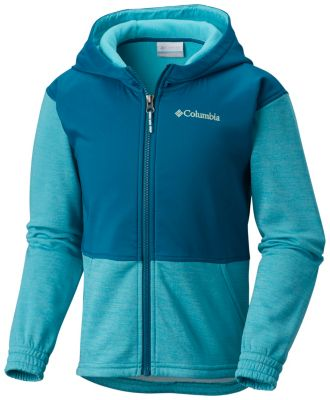 Girls' S'more Adventure™ Hybrid Hoodie at Columbia Sportswear in Oshkosh, WI | Tuggl