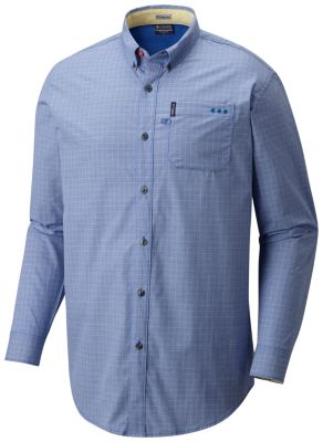 Men's PFG Super Dockside™ II Long Sleeve Shirt | Tuggl