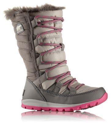 Eastbay Sorel Kids Whitney Mid Snow Boot(Children's) -Dolphin/Quarry Nylon Discount Lowest Price zDdH2