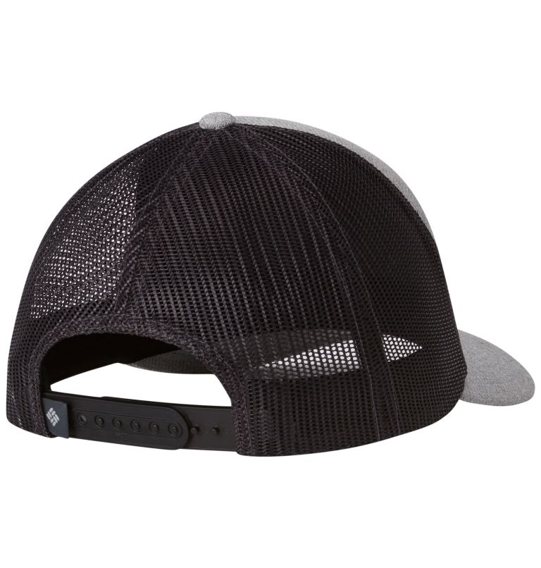 Trail Evolution™ Snap Back Hat | 039 | O/S Berretto regolabile unisex Trail Evolution™, Columbia Grey Hthr, Script, back