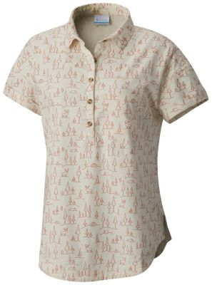 Women's Summer Time™ Short Sleeve Shirt | Tuggl