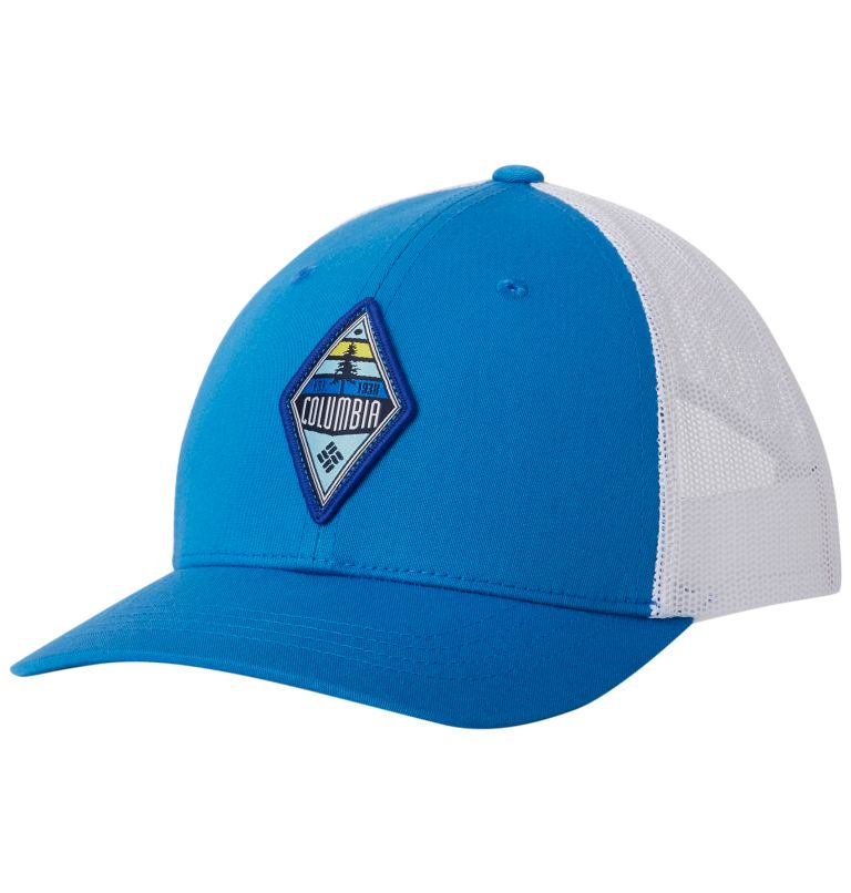 Columbia Youth™ Snap Back Hat   439   O/S Youth Columbia™ Snap Back Cap, Super Blue, Diamond Patch, front