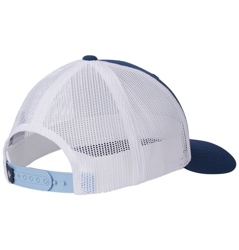 Columbia Youth™ Snap Back Hat | 469 | O/S Youth Columbia™ Snap Back Cap, Carbon, Feather Patch, back