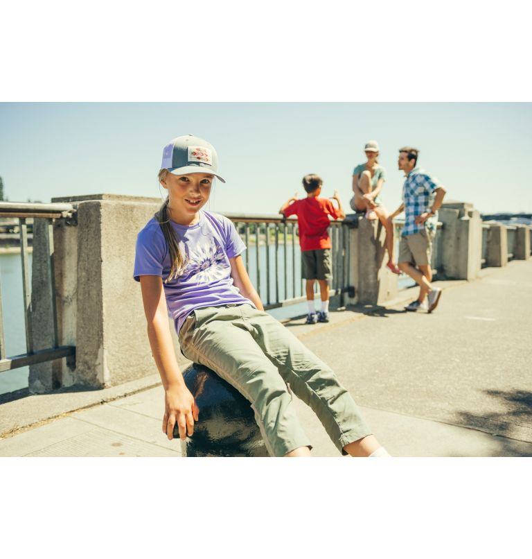 Columbia Youth™ Snap Back Hat | 576 | O/S Casquette Snapback Junior, Grape Gum, Feather Patch, a1