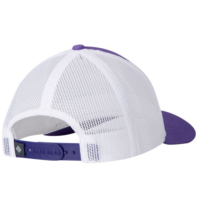 Columbia Youth™ Snap Back Hat | 576 | O/S Youth Columbia™ Snap Back Cap, Grape Gum, Feather Patch, back