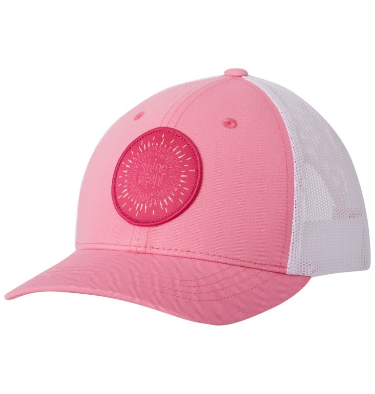 Columbia Youth™ Snap Back Hat | 674 | O/S Youth Columbia™ Snap Back Cap, Lollipop, Circle Patch, front