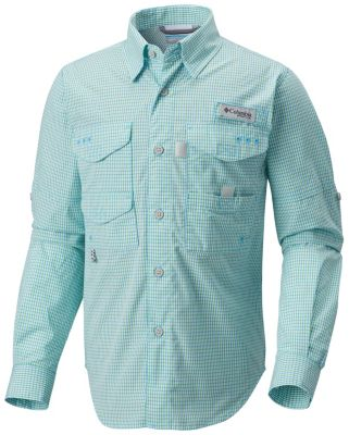 Boys' Super Bonehead™ Long Sleeve Shirt at Columbia Sportswear in Economy, IN | Tuggl
