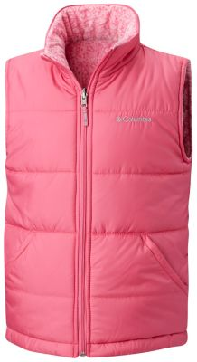 Kids' Ice Chips™ II Reversible Vest at Columbia Sportswear in Oshkosh, WI | Tuggl