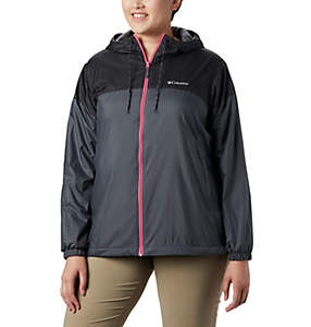 Women's Flash Forward™ Lined Windbreak - Plus Size
