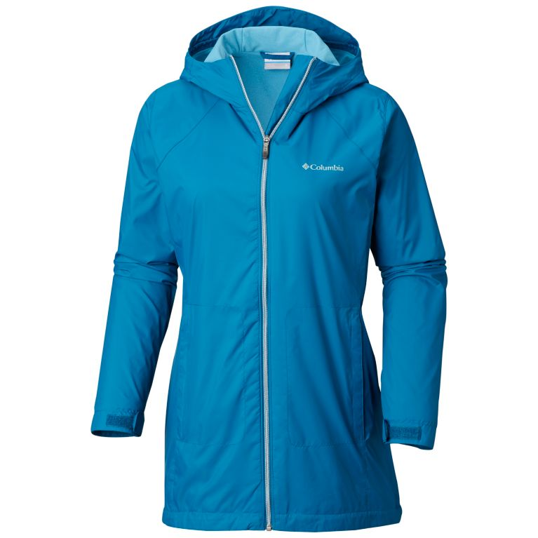 Columbia Women's Switchback Lined Long Jacket with Waterproof Shell