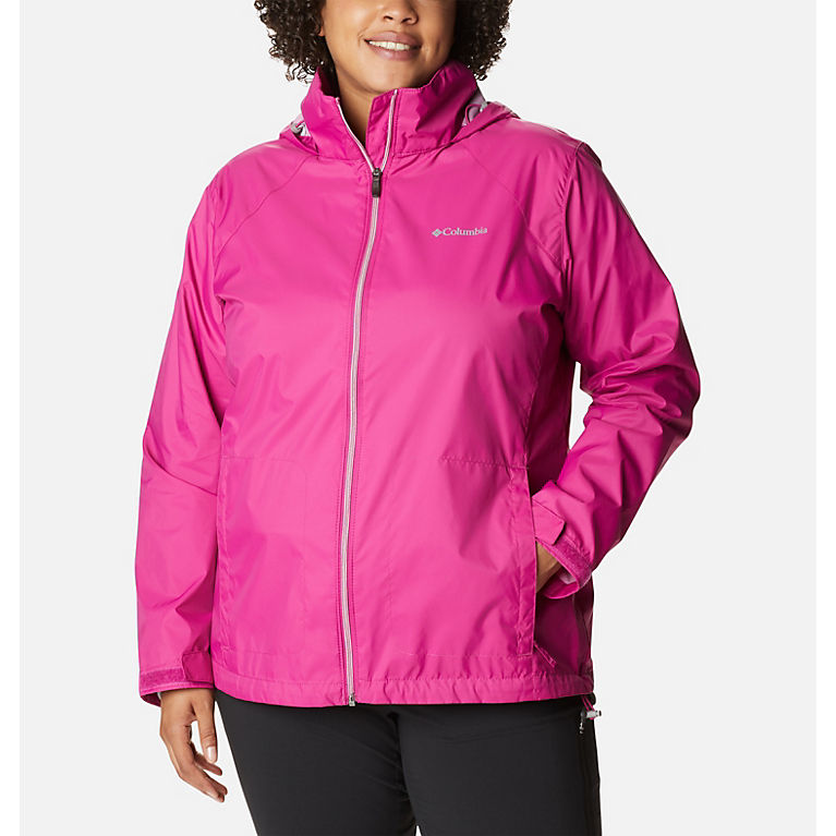 e30713d2636 Fuchsia Women s Switchback™ III Jacket - Plus Size