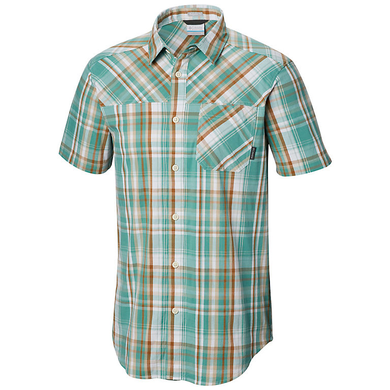 3d3e1144397 Copper Ore Plaid Men's Thompson Hill™ Yarn Dye Short Sleeve Shirt, ...