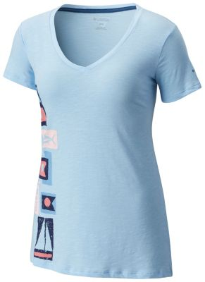 Women's PFG Coastal Flags™ Tee - Plus Size | Tuggl