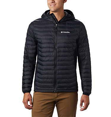 Men's Powder Lite™ Hybrid Hooded Jacket , front