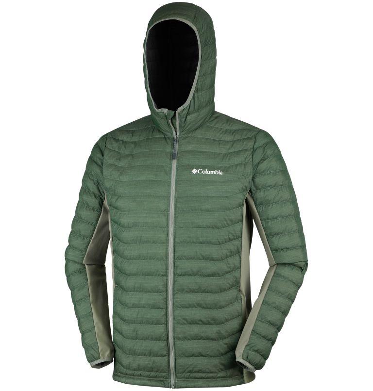 Men's Powder Lite™ Hybrid Hooded Jacket Men's Powder Lite™ Hybrid Hooded Jacket, a1