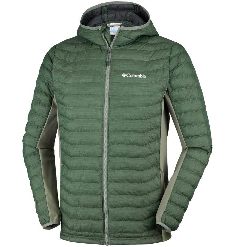 Men's Powder Lite™ Hybrid Hooded Jacket Men's Powder Lite™ Hybrid Hooded Jacket, front