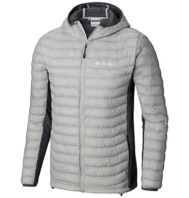 Men's Powder Pass™ Hooded Jacket - plus size , front