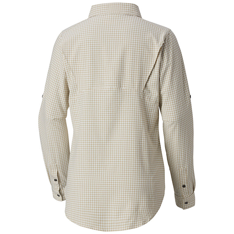a23f26a1 Light Bisque Gingham Women's Bryce Canyon™ Stretch Long Sleeve Shirt, View 1