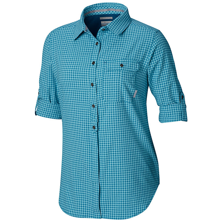 cbcd79a1c99 Siberia Gingham Women's Bryce Canyon™ Stretch Long Sleeve Shirt, ...