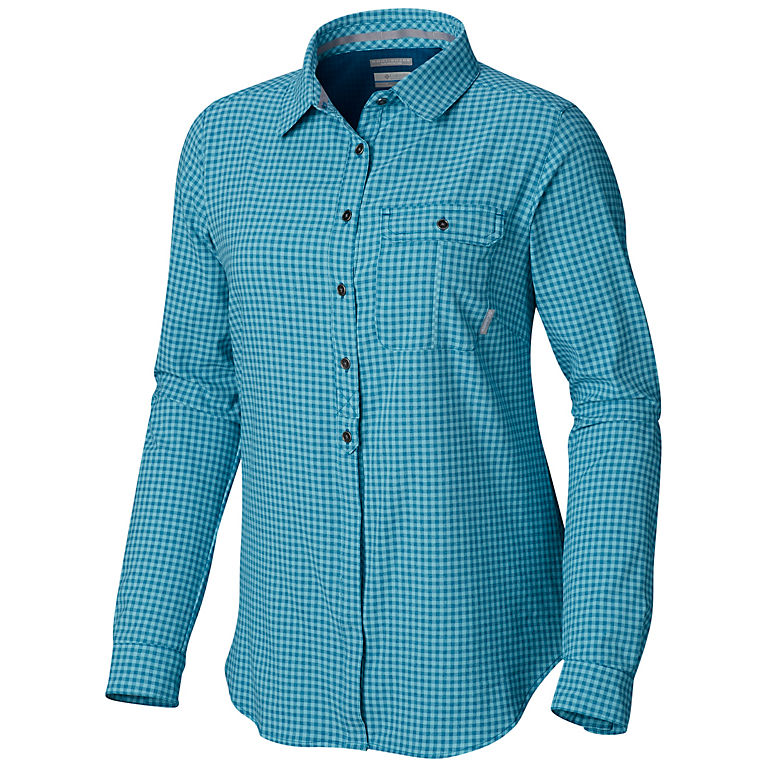 802d2019960 Siberia Gingham Women's Bryce Canyon™ Stretch Long Sleeve Shirt, ...