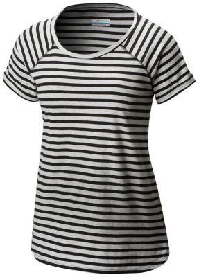 Women's Trail Shaker™ Stripe Short Sleeve Tee | Tuggl