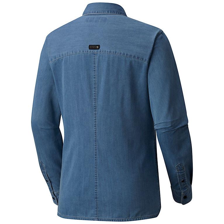 5bd439b02f5 Light Wash Women s Hardwear Denim™ Long Sleeve Shirt