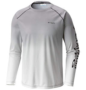 Men's PFG Solar Shade™ Printed Long Sleeve Shirt
