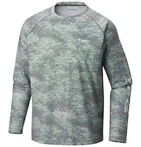 Men's PFG Solar Shade™ Printed Long Sleeve Shirt