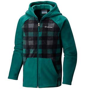 Boy's Granite Mountain™ Hooded Printed Fleece Full Zip
