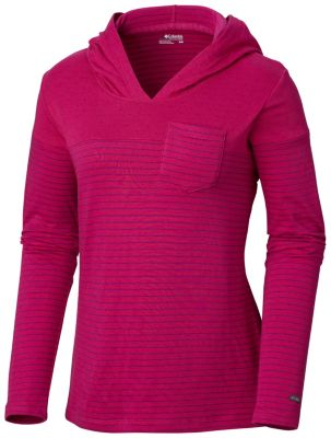 Columbia Women's Harrlow Hills II Hooded Long Sleeve Shirt
