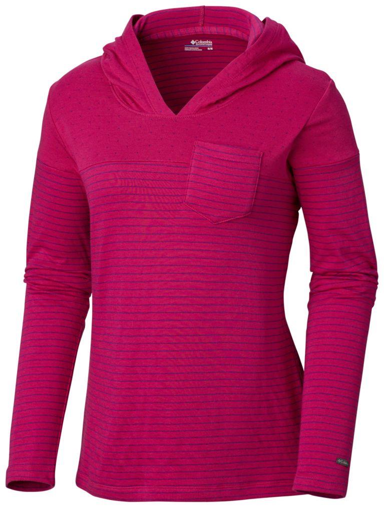 Deep Blush Women's Harrlow Hills™ II Hooded Long Sleeve Shirt, View 0