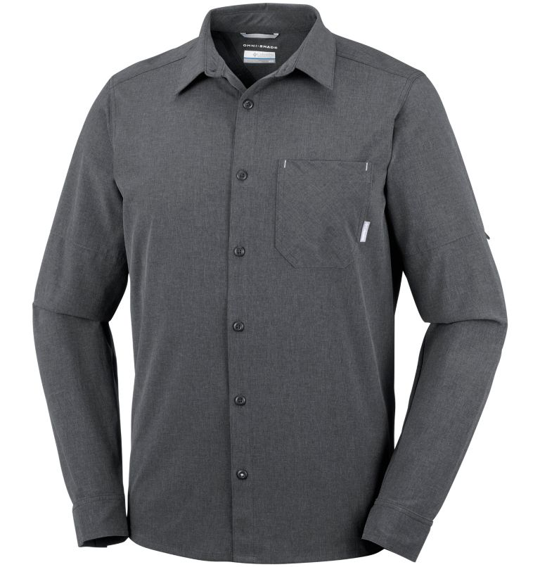 Men's Triple Canyon™ Long Sleeve Plaid Shirt Men's Triple Canyon™ Long Sleeve Plaid Shirt, front