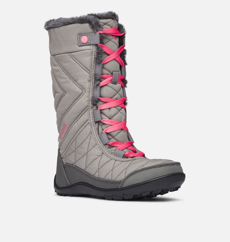 Youth Minx™ Mid III WP Omni-Heat™ Snow Boots Youth Minx™ Mid III WP Omni-Heat™ Snow Boots, 3/4 front