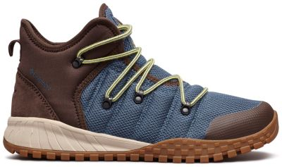 Columbia Men's Fairbanks 503 Boots (Whale / Mineral Yellow)