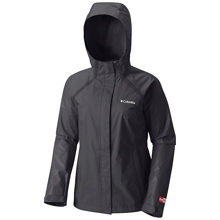 9e1f4b0153b Black Women s OutDry™ Hybrid Jacket - Plus Size