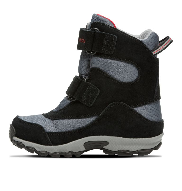 YOUTH PARKERS PEAK™ BOOT | 053 | 1 Botte Velcro Parkers Peak™ Junior, Graphite, Bright Red, medial