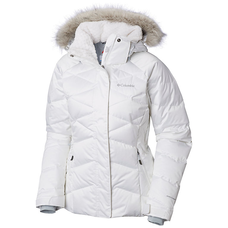 adf3b96aa6195 White Women s Lay D Down™ II Jacket - Plus Size