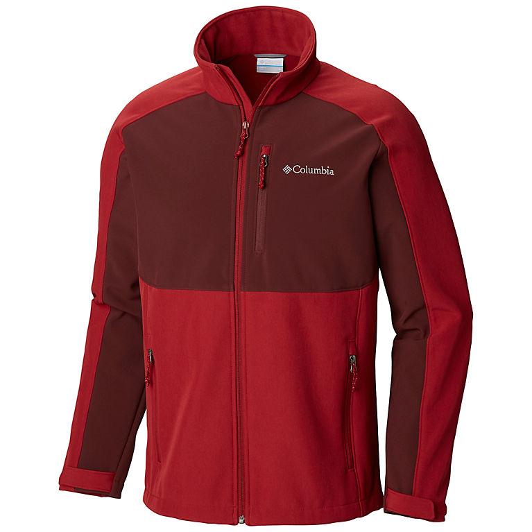 Columbia Ryton Reserve Softshell Mens Jacket (Red)